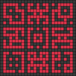 Alpha pattern #102836