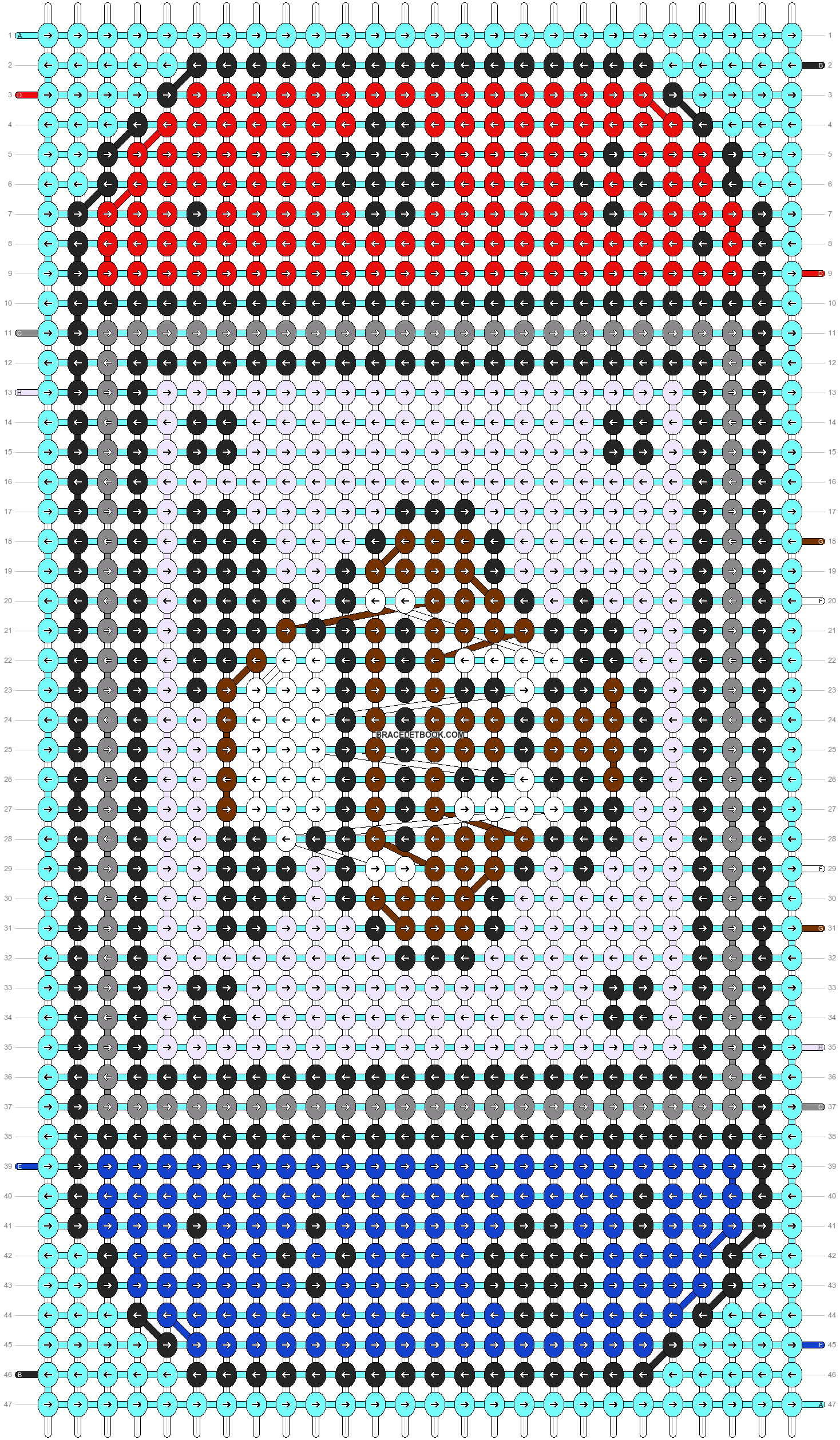 Alpha pattern #102938 pattern