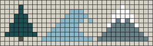 Alpha pattern #102972