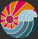 Alpha pattern #102976