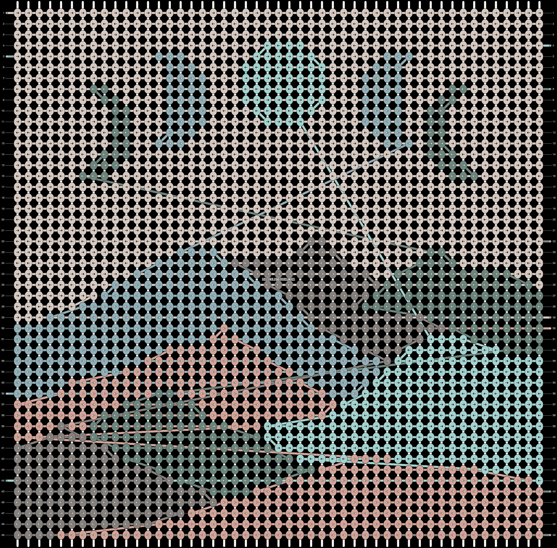 Alpha pattern #102988 pattern