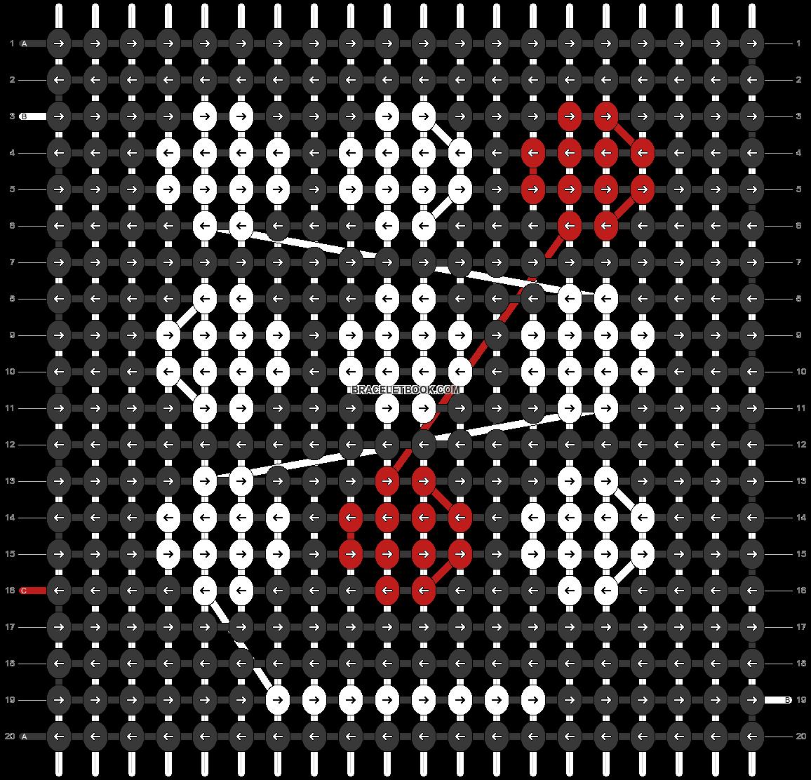 Alpha pattern #103016 pattern
