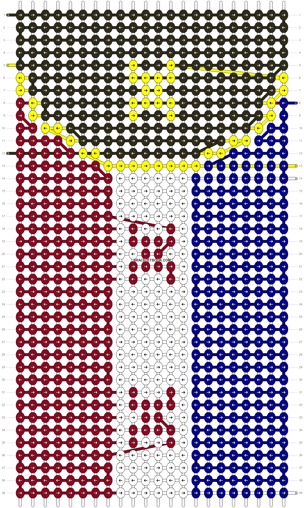 Alpha pattern #103056 pattern