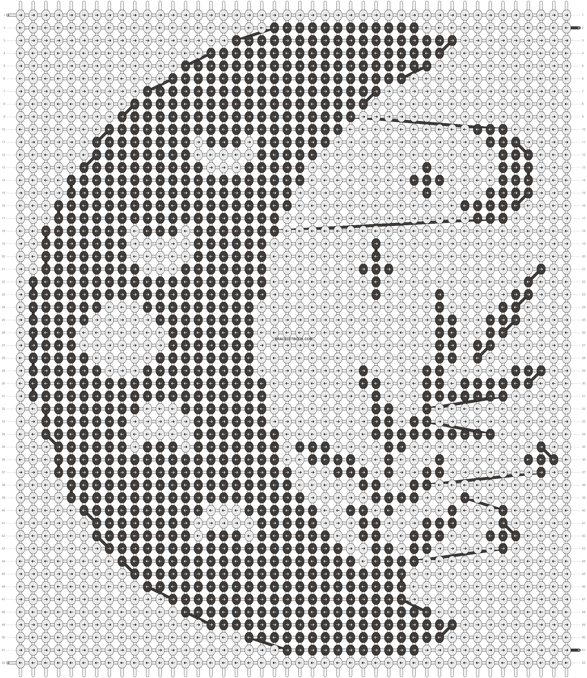 Alpha pattern #103070 pattern