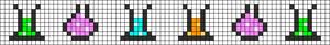 Alpha pattern #103132