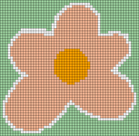 Alpha pattern #103135