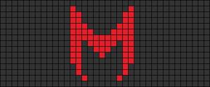 Alpha pattern #103156