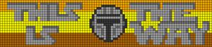 Alpha pattern #103161