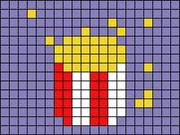 Alpha pattern #103166