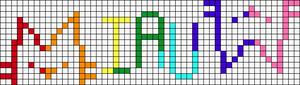 Alpha pattern #103339