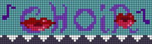 Alpha pattern #103382