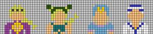 Alpha pattern #103384