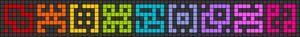 Alpha pattern #103399