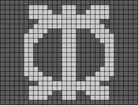 Alpha pattern #103422