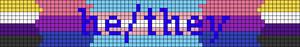 Alpha pattern #103440