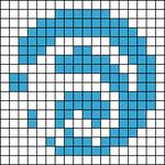 Alpha pattern #103447