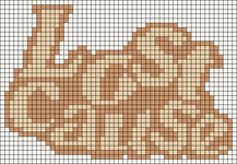 Alpha pattern #103448