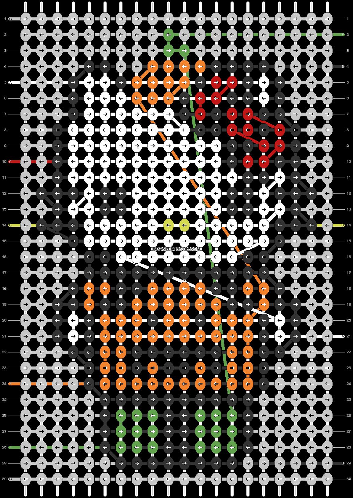Alpha pattern #103494 pattern