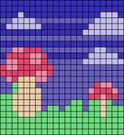 Alpha pattern #103521