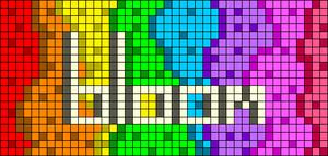 Alpha pattern #103551