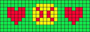Alpha pattern #103613