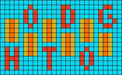 Alpha pattern #103636