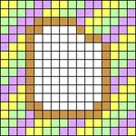 Alpha pattern #103695
