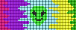Alpha pattern #103696