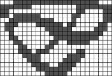 Alpha pattern #103757