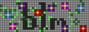 Alpha pattern #103775