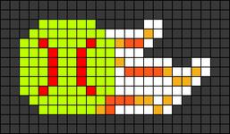 Alpha pattern #103786