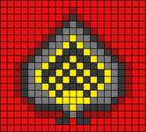 Alpha pattern #103831