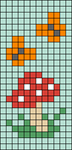Alpha pattern #103886