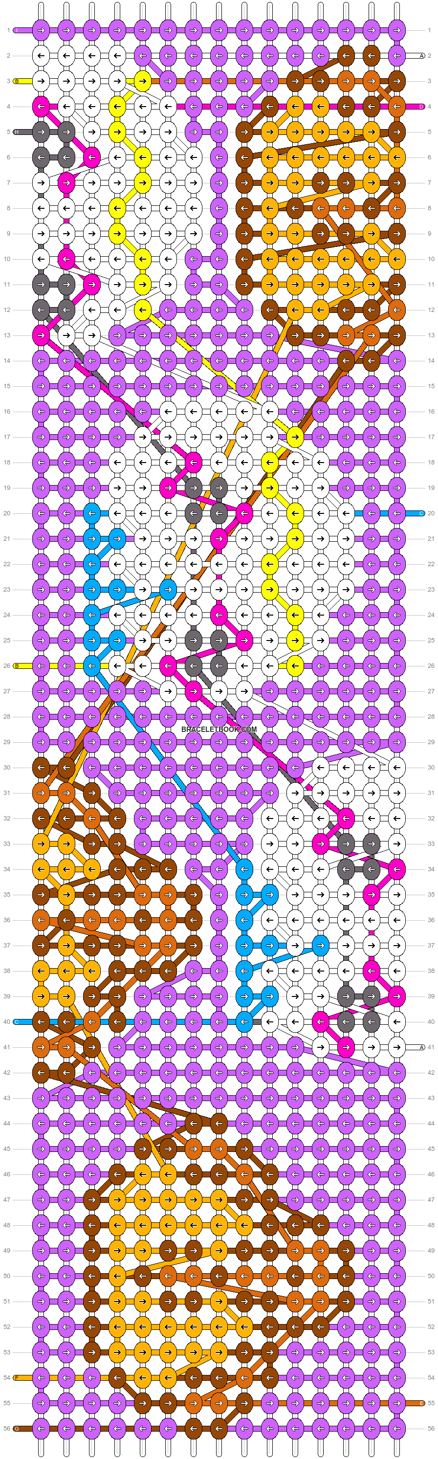 Alpha pattern #104008 pattern