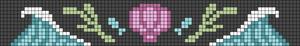 Alpha pattern #104040