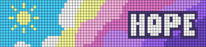Alpha pattern #104041