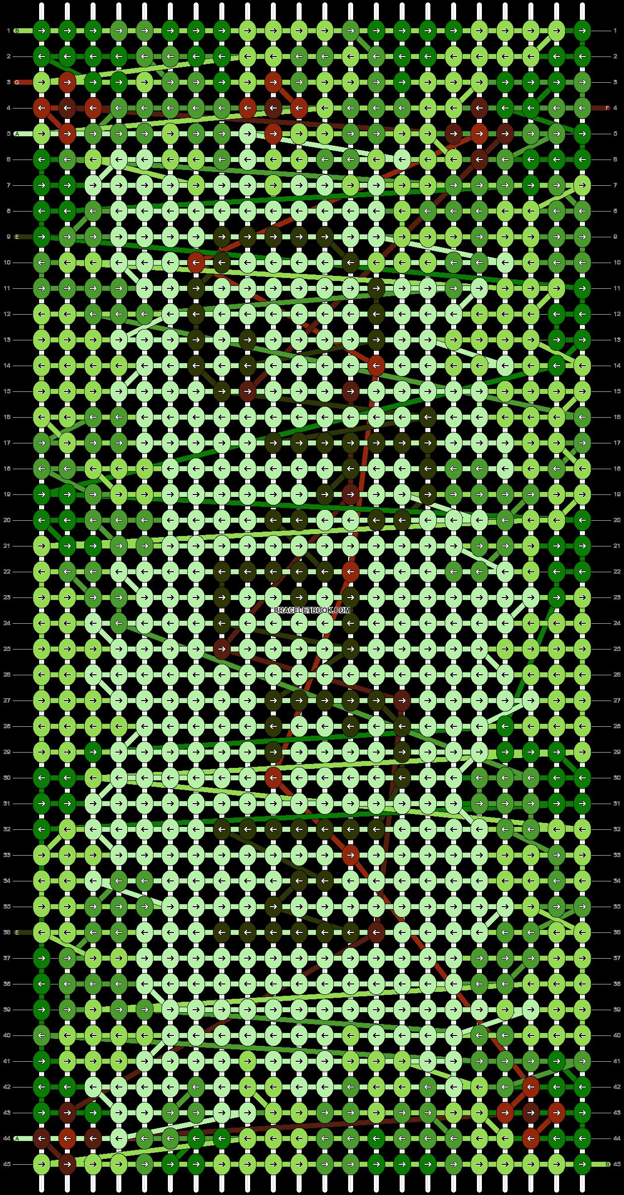 Alpha pattern #104074 pattern