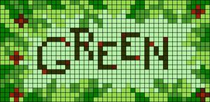Alpha pattern #104074