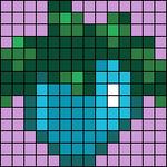 Alpha pattern #104102