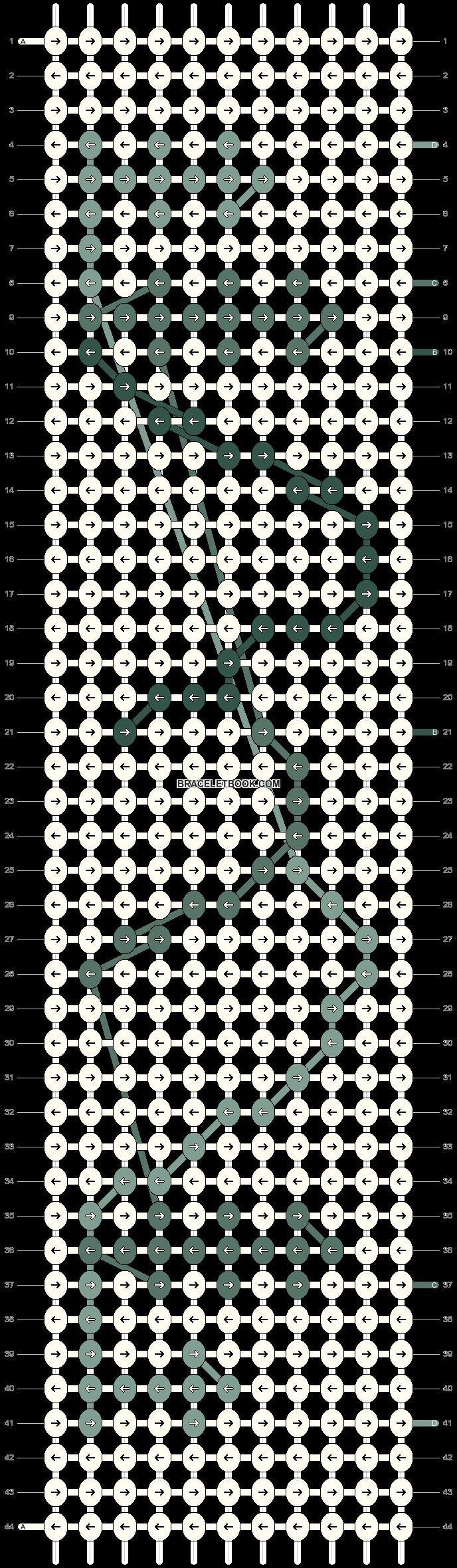 Alpha pattern #104125 pattern