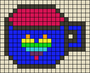 Alpha pattern #104162