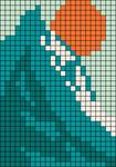 Alpha pattern #104230