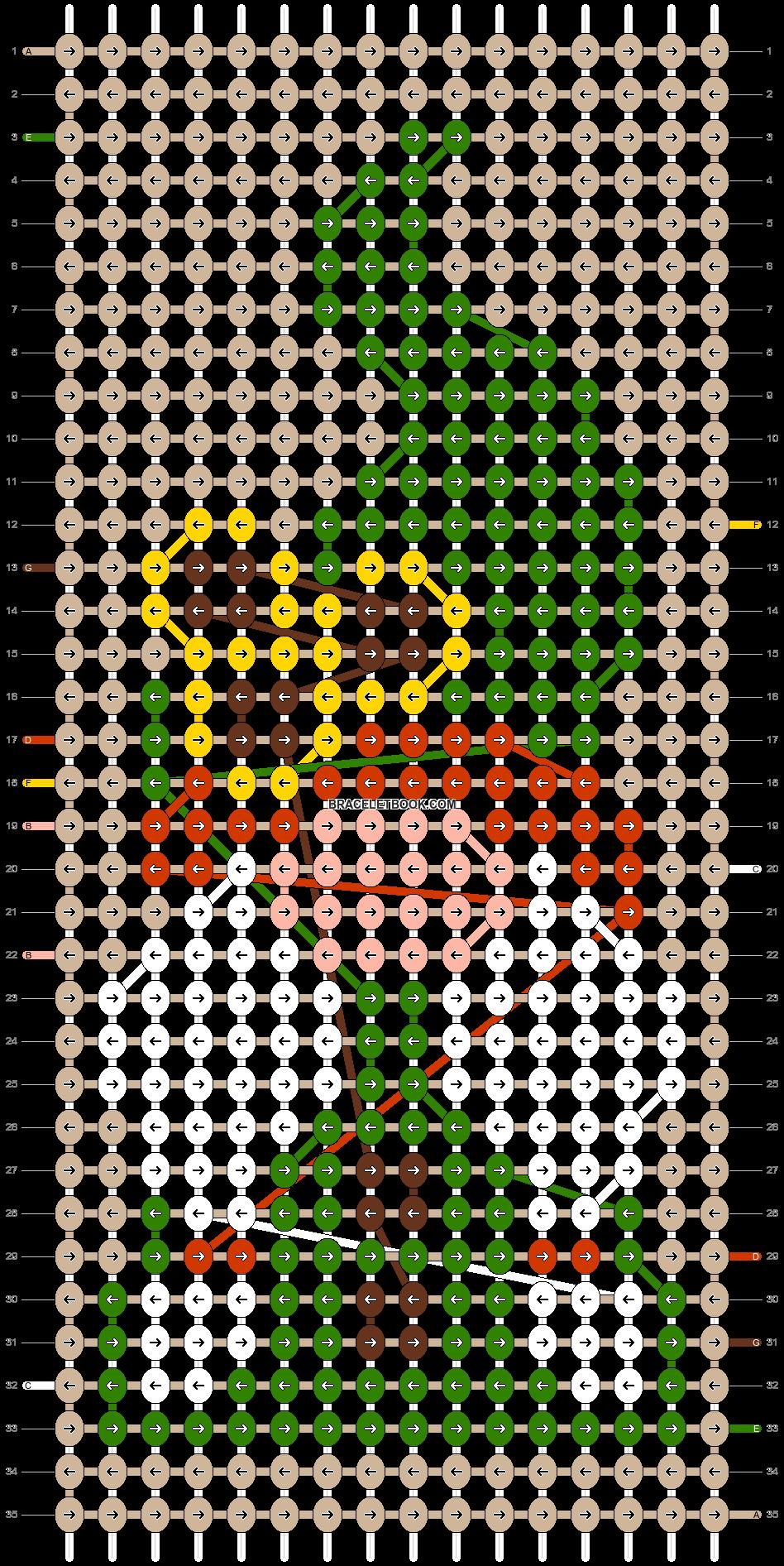 Alpha pattern #104252 pattern