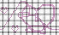 Alpha pattern #104287