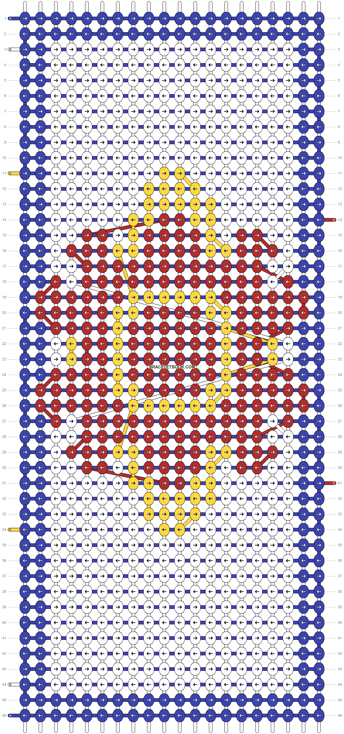 Alpha pattern #104290 pattern
