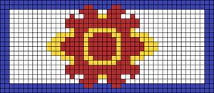 Alpha pattern #104290