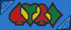 Alpha pattern #104292
