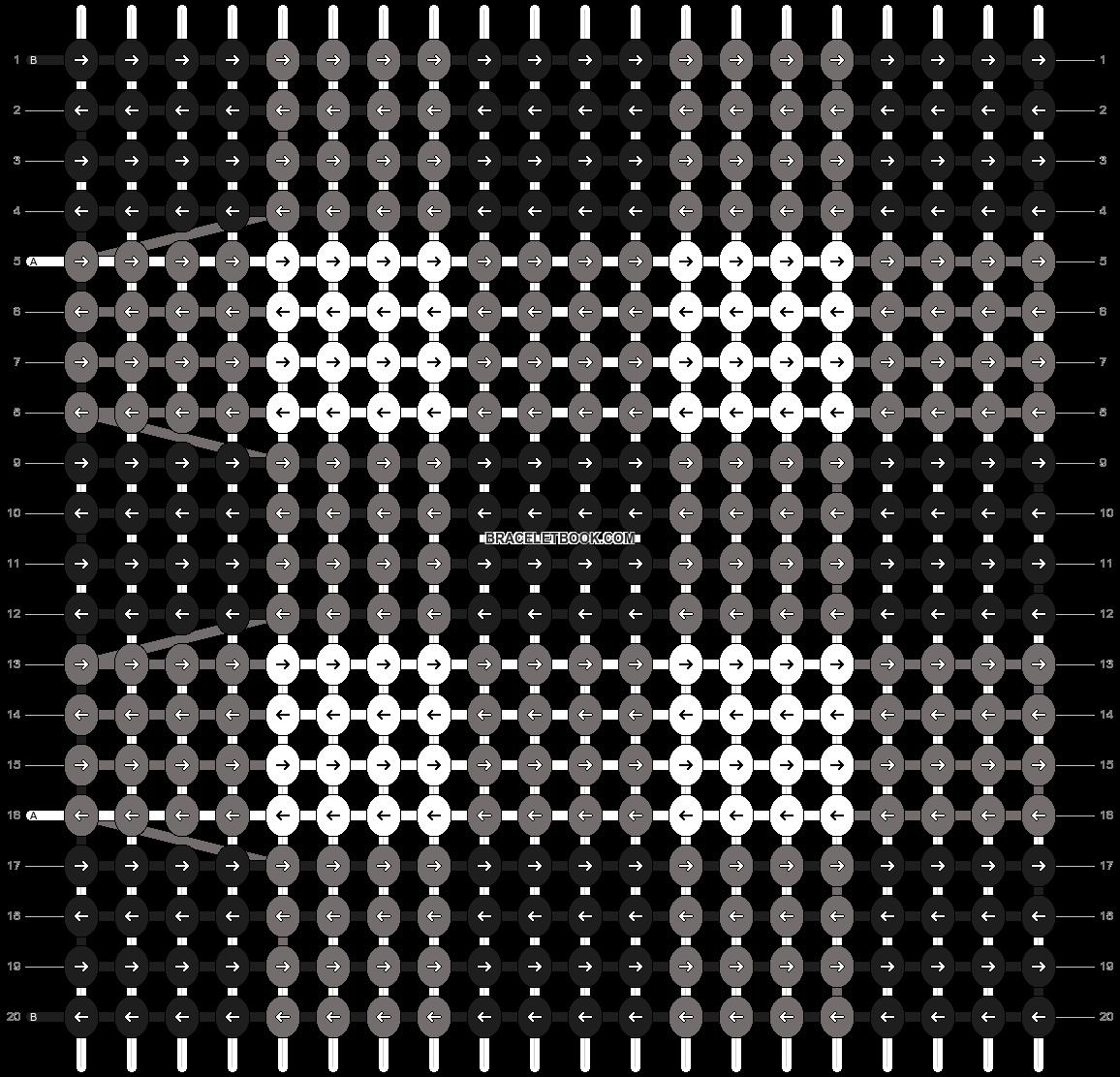 Alpha pattern #104302 pattern