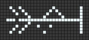 Alpha pattern #104306