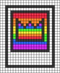 Alpha pattern #104365